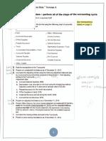 full manual accounting cycle