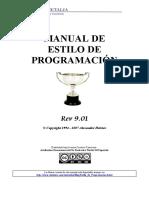 Manual de Estilo de Programacion