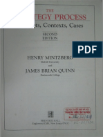 Mintzberg - The Strategy Process - Concepts, Context and Cases - Index