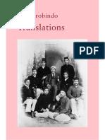 Sri Aurobindo - 05 Translations