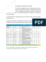 Estimación de costos para realizar la investigación de mercados.docx