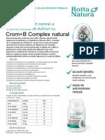 Crom+B Complex Natural