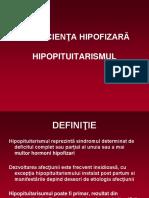 7. insuficienta hipofizara