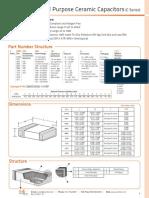 Surface Mount Ceramic Capacitors