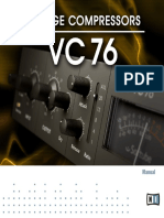 Vintage Compressors VC 76 Manual English