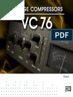 Vintage Compressors VC 76 Manual English