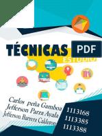 TECNICAS DE ESTUDIO - CARTILLA