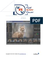 FastRawViewer Manual