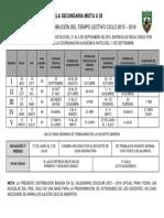 Programacion Ciclo Escolar 15 - 16