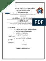 ANÁLISIS DE CUENCA HIDROGRÁFICA.