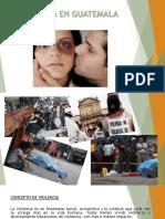 Violencia en Guatemala 3.1416
