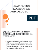 Fundamentos Biologicos de Psicologia