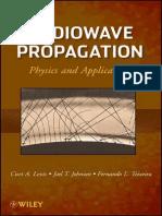 Radiowave Propagation_ Physics and Applications by Curt Levis & Joel T. Johnson & Fernando L. Teixeira