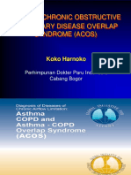 ASTHMA-CHRONIC OBSTRUCTIVE PULMONARY DISEASE OVERLAP SYNDROME (ACOS)
