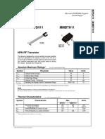Data Sheet MPSH11