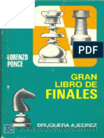 Lorenzo Ponce - Gran Libro de Finales 1973
