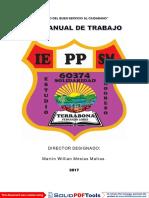 PLAN ANUAL DE TRABAJO 2017 IEPPSM N° 60374 - TERRABONA DIRECTOR MARTIN WILLIAN MESIAS MATIAS