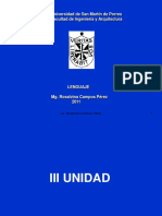 La Comunicacion - Tercera Unidad 2011 USMP