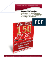 Gagnez 150 Euros