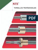 Conti Contigroup Tornillos Trapezoidales Catalogo-ES