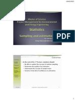 Lecture3-SamplingEstimation