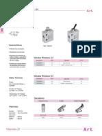 06 Valvulas Manuales y Mecanicas 5 2 Vias