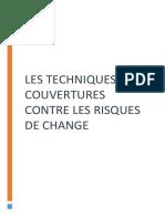 Les Techniques de Couverture de Risque de Change