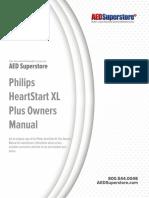 Philips Heartstart Xl Plus Defibrillator Manual