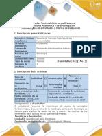 Guía de Actividades y Rúbrica de Evaluación - Fase 4 - Discusión y Reflexión Sociologia