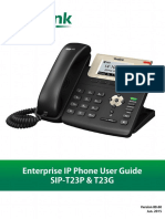 Yealink SIP-T23P User Guide