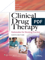 Clinical Drug Therapy - Rationales for Nursing Practice 9th Ed. - A. Abrams, Et. Al., (Lippincott, 2007) BBS