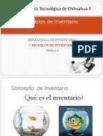 Unidad 3 Modelos de Inventarios Para CADENAS de SUMINISTRO 2016 (1)