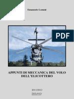 Appunti Di Meccanica Del Volo Dell'Elicottero