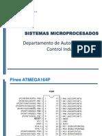 Configuración Timer0 ATmega 164p