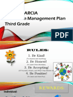artifact - classroom management plan