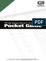 Transaction Codes Pocket Guide