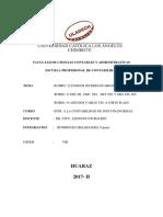 Registración Con Cuentas de Rubro 22-24