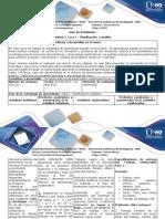 Guía de Actividades y Rúbrica de Evaluación - Fase I - Planificación y Análisis