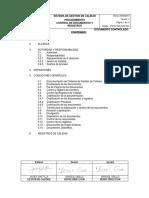 PROC-SGC-SGC-001 - Procedimiento de Control de Documentos y Registros