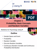 Probability for psychology