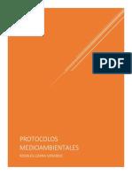 Protocolos Medioambientales