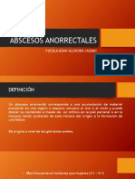 ABSCESOS ANORRECTALES