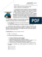 Guía Teórico - Práctica Plan de Redacción Nro 2, 2017