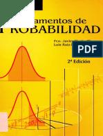 Fundamentos de Probabilidad - Martin Pliego