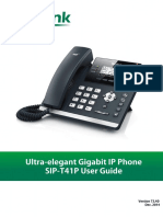 Yealink SIP-T41P User Guide