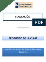2. Planeaciòn-objetivos y Planes