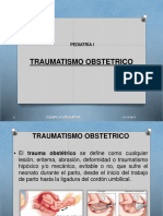 TRAUMATISMO OBSTETRICO