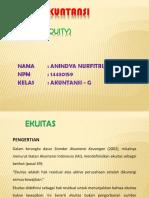 PPT EKUITAS Buku Suwardjono. 2008. Teori Akuntansi, Edisi Ketiga.