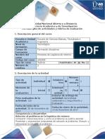 Guía de Actividades y Rubrica de Evaluaciòn Fase 4 - Presentaciòn y Sustentacion