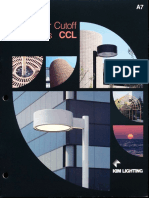 Kim Lighting CCL Curvilinear Cutoff Luminaires Brochure 1990